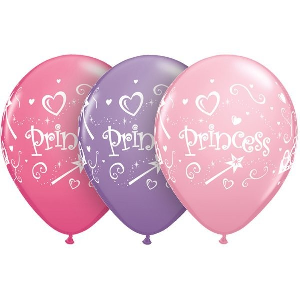 Qualatex 11 Inch Assorted Latex Balloon - Princess