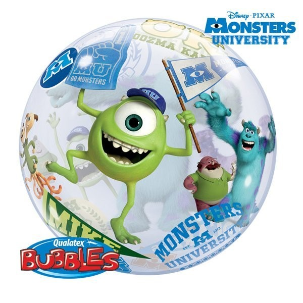 Qualatex 22 Inch Single Bubble Balloon - Monsters University