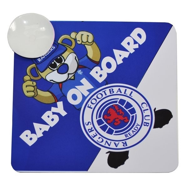 Rangers Baby On Board Sign