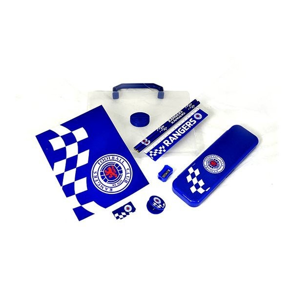 Rangers Checked PP Stationery Gift Set