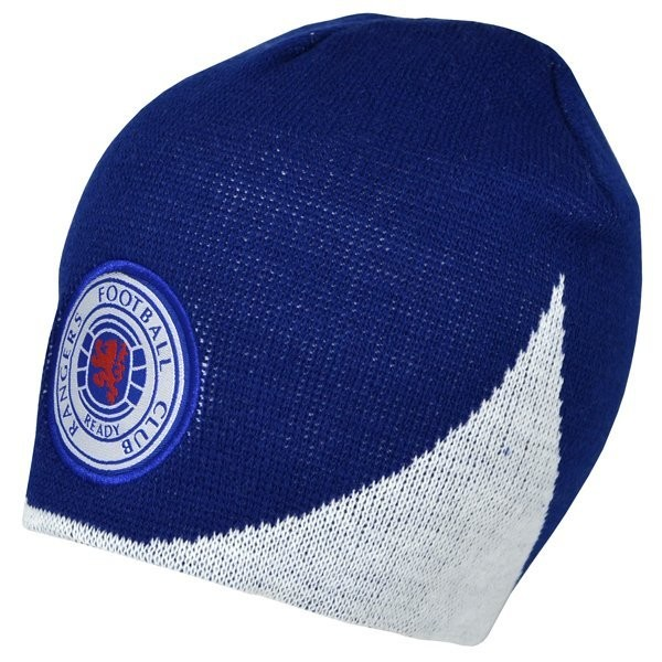 Rangers Wave Knitted Beanie Hat