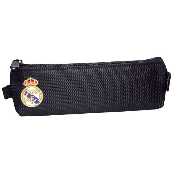 Real Madrid Black Flat Pencil Case