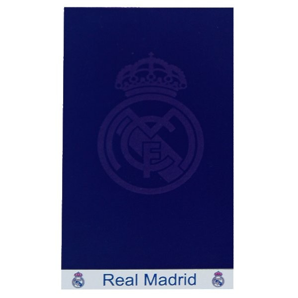 Real Madrid Jacquard Beach Towel - Navy