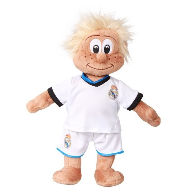 Real Madrid Mascot Bear - White