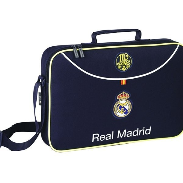 Real Madrid Navy School Briefcase