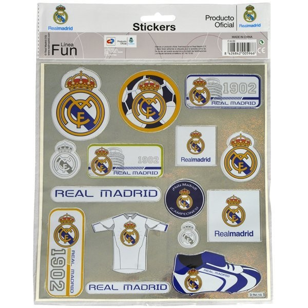 Real Madrid Sticker Pack