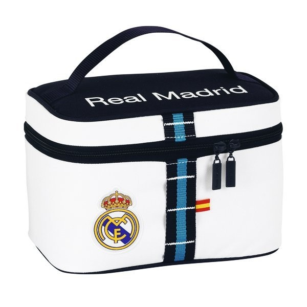 Real Madrid White Carrying Case - 23 Cms