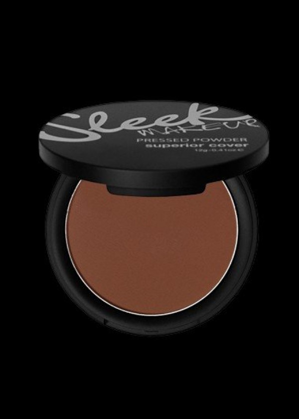 Sleek MakeUP 'Superior Cover' Pressed Powder In Brown Velvet