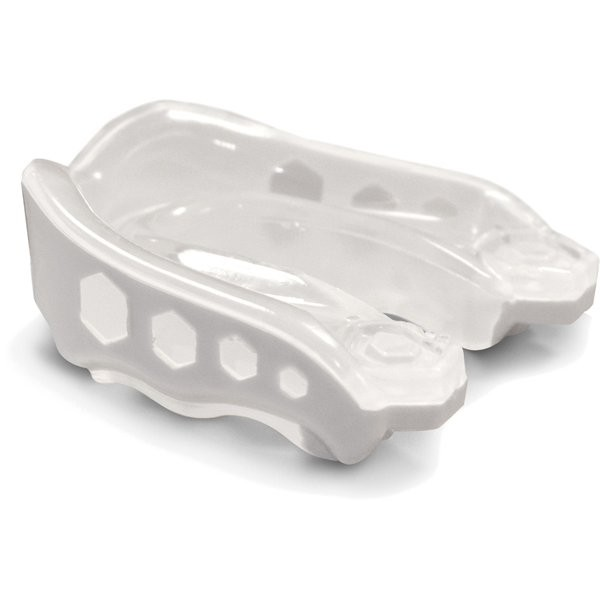 Shock Doctor Gel Max Strapless Mouthguard White - Adult