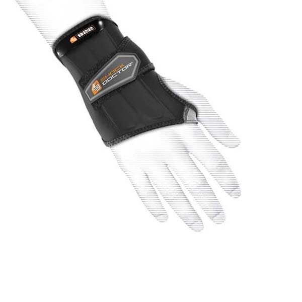 Shock Doctor Wrist Wrap Support Right Hand Size L