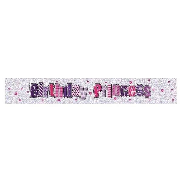 Simon Elvin Foil Banner - Birthday Princess