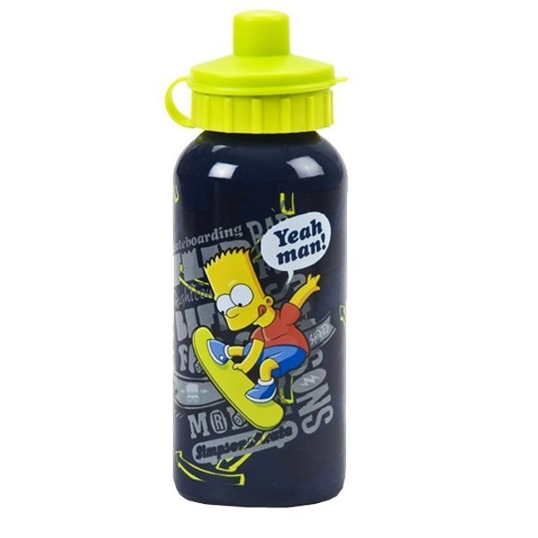 Simpsons Skate Aluminium Water Bottle