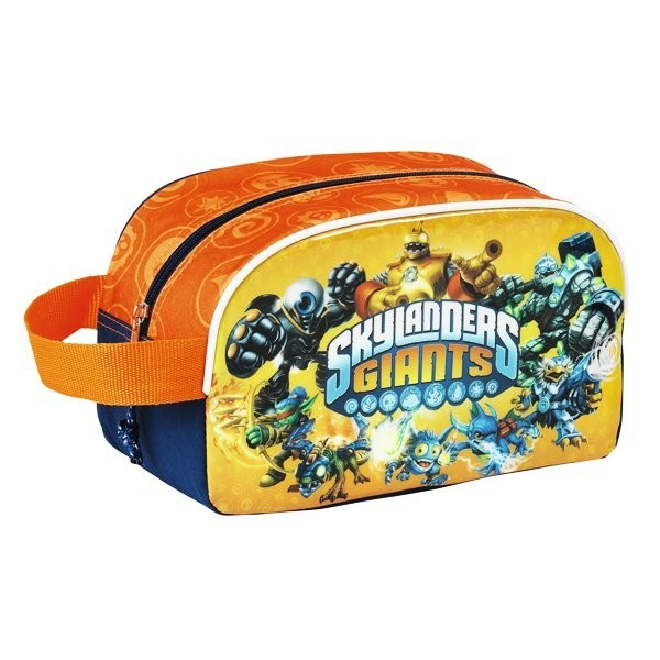 Skylanders Orange Carrying Pencil Case - 26cm