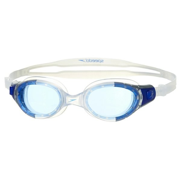 Speedo Adult Futura Biofuse Goggle - Clear/Blue