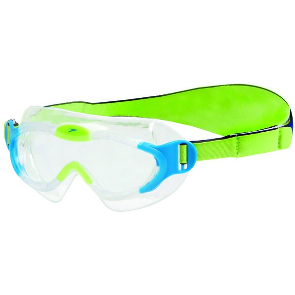 Speedo Junior Sea Sqaud Mark Goggle - Blue/Green