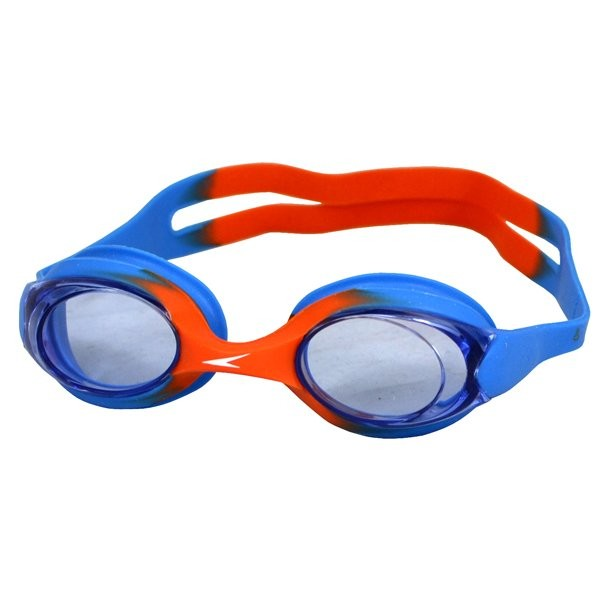 Speedo Junior Sea Sqaud Skoogle Flexifit Goggle - Blue/Orange