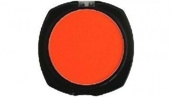 Stargazer Orange Neon UV Reactive Pressed Powder Eyeshadow