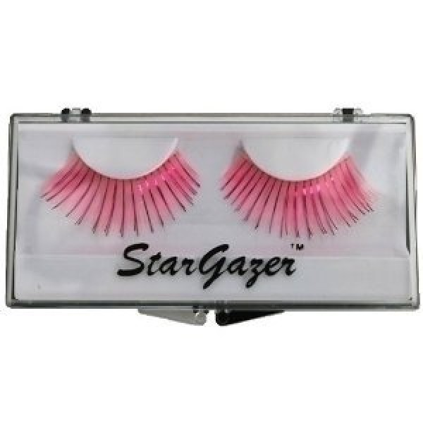 Stargazer Reusable False Eyelashes Bright Pink and Foil 21