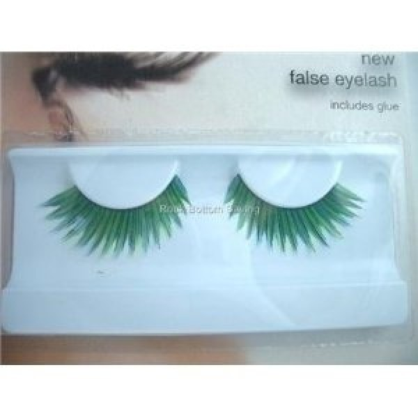 Stargazer Reusable False Eyelashes Green & Blue 51
