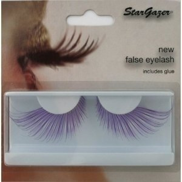 Stargazer Reusable False Eyelashes Extra Long Purple 56