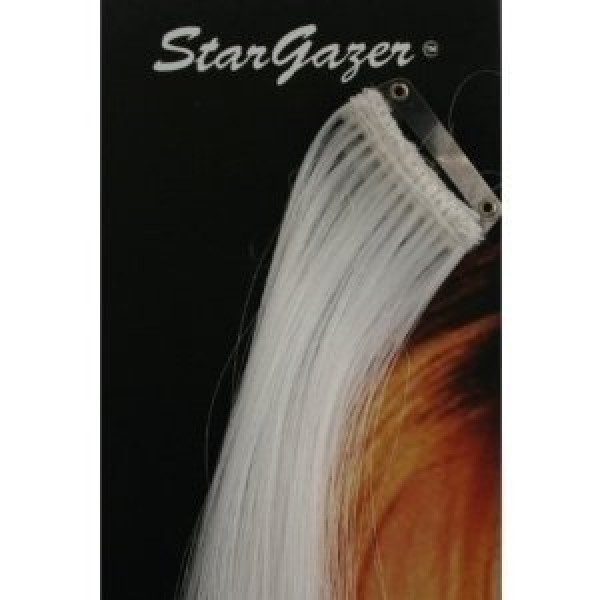 Stargazer White Baby Hair Extensions