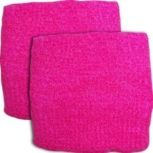 Neon Pink Sweatband / Armband For Rave Party Festival