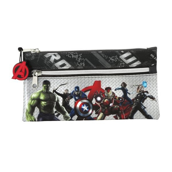 The Avengers Age Of Ultron Flat Pencil Case