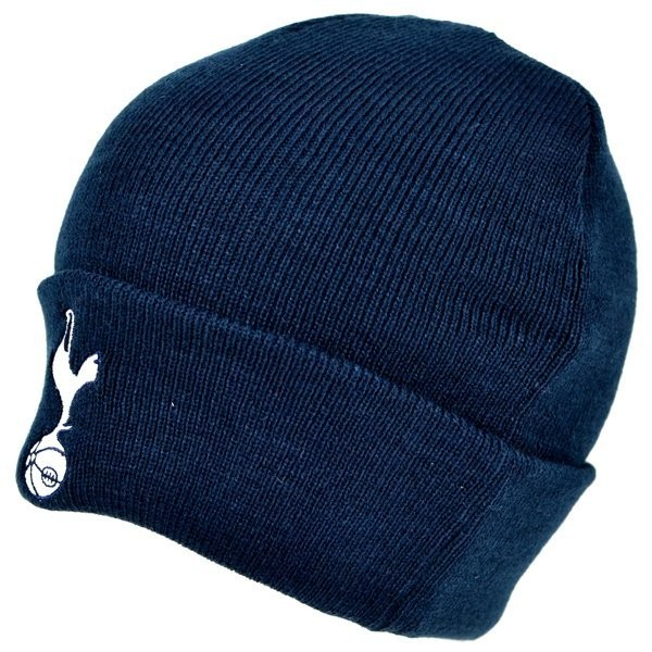 Tottenham Cuff Knitted Hat - Navy