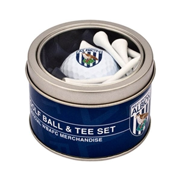 West Bromwich Albion Golf Ball & Tee Set