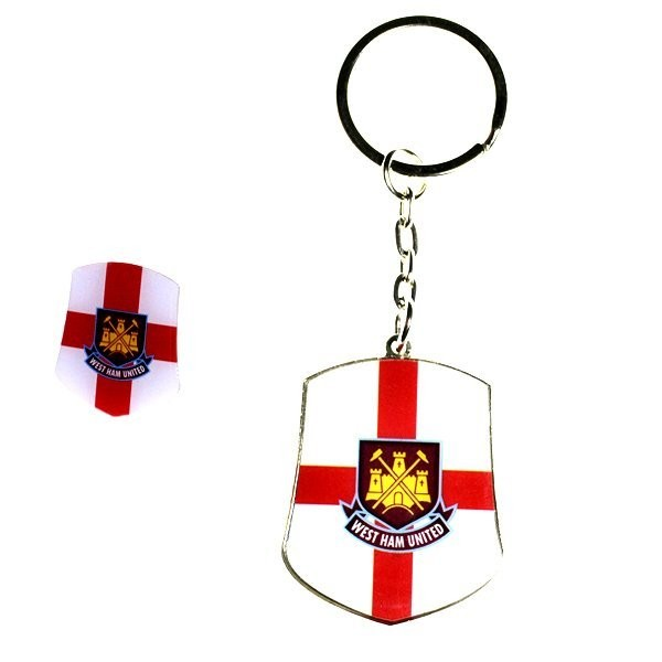 West Ham Club Country Badge and Keyring