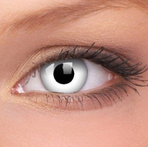 Whiteout Crazy Colour Contact Lenses (1 Year Wear)