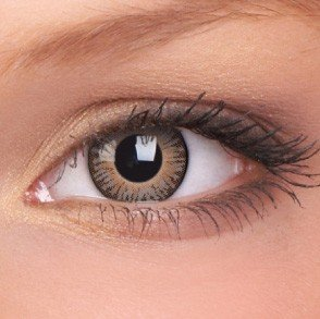 Brown 3 Tones Coloured Contact Lenses (90 Day)