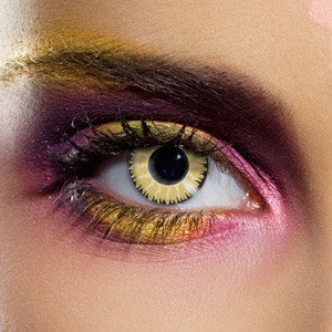 Edit Glamour Honey Contact Lenses