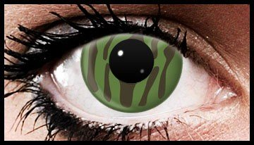 Camouflage Crazy Coloured Contact Lenses (90 days)