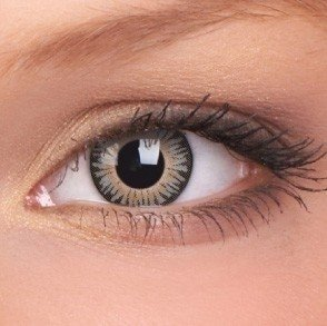 Grey 3 Tones Coloured Contact Lenses (90 Day)