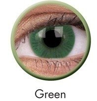 Green Basic Coloured Contact Lenses (90 Day)