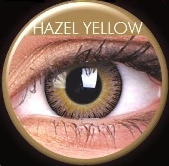 Fusion Hazel Yellow Coloured Contact Lenses (30 Day)