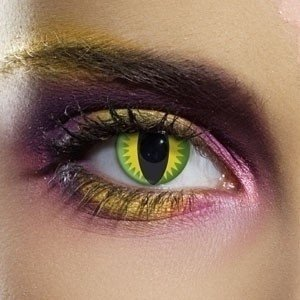 EDIT Crazy Green Dragons Eye Contact Lenses