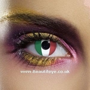 EDIT Flag Italy Contact Lenses