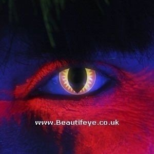 EDIT iGlow Red Dragon Contact Lenses