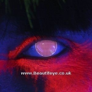 EDIT iGlow Red Screen Contact Lenses