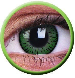 Elegance Green Coloured Contact Lenses