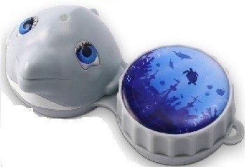 Funky Dolphin 3D Contact Lens Storage Case