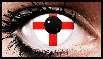 George Cross Colour Contact Lenses (90 Day)