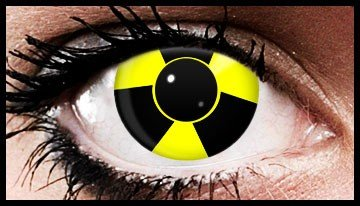 Bio Hazard Crazy Coloured Contact Lenses  (90 Day Lenses)