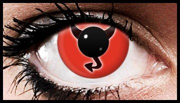 Horny Devil Coloured Contact Lenses (90 Days)