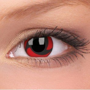 Mangekyu Crazy Colour Contact Lenses (1 Year Wear)