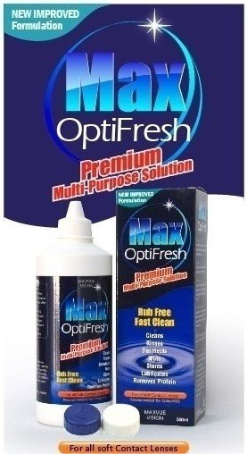 60ml Max Opti Fresh Multi Purpose Solution & Lens Holder