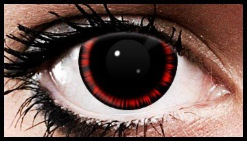 Red Abyss Crazy Coloured Contact Lenses (90 days)