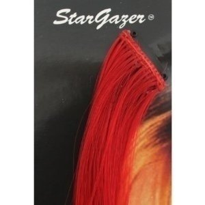 Stargazer Red Baby Hair Extensions